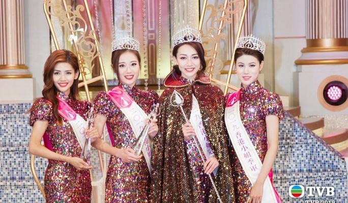 Tiểu Quách Khả Doanh đăng quang Hoa hậu Hồng Kông 2019 - Ảnh 6.