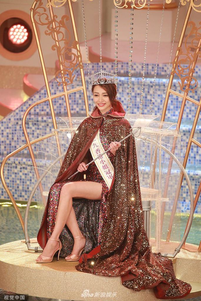 Tiểu Quách Khả Doanh đăng quang Hoa hậu Hồng Kông 2019 - Ảnh 4.