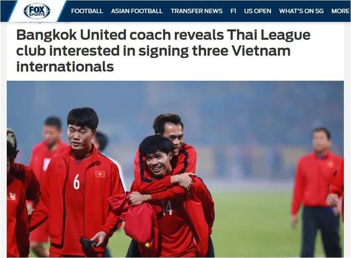 CLB Bangkok United của Thái Lan muốn sở hữu bộ ba tuyển thủ Việt Nam - Ảnh 1.