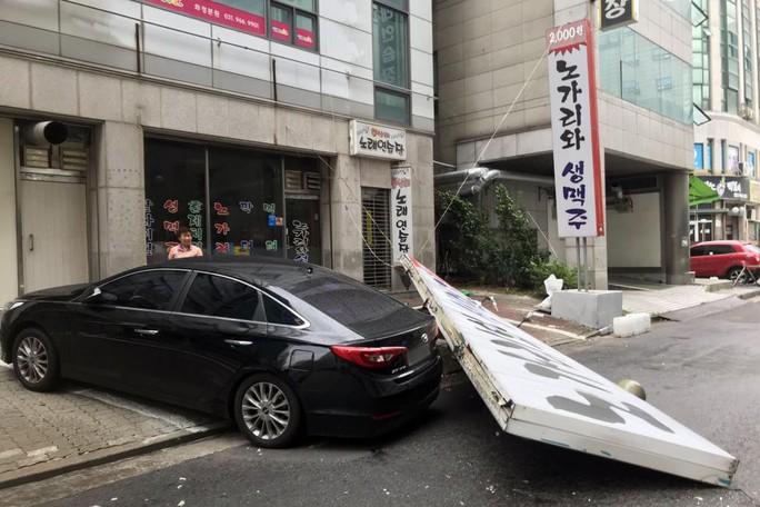 Hai bão lớn tấn công Nhật Bản, bán đảo Triều Tiên - Ảnh 4.