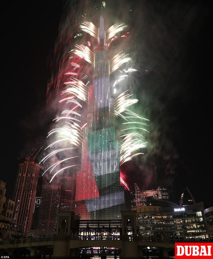 Ngất ngây với đại tiệc pháo hoa mừng năm mới 2020 ở trời Âu - Ảnh 2.