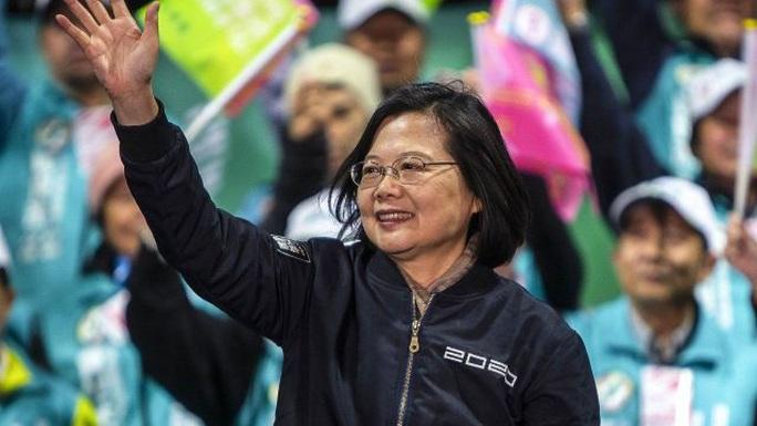 Bà Thái Anh Văn tái đắc cử lãnh đạo Đài Loan - Ảnh 1.