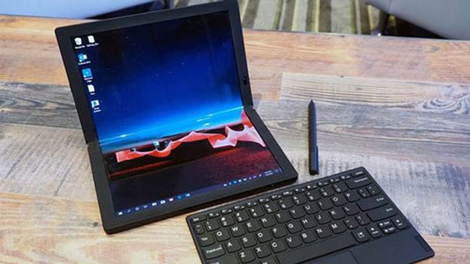 Laptop màn hình gập ThinkPad X1 Fold - Ảnh 1.