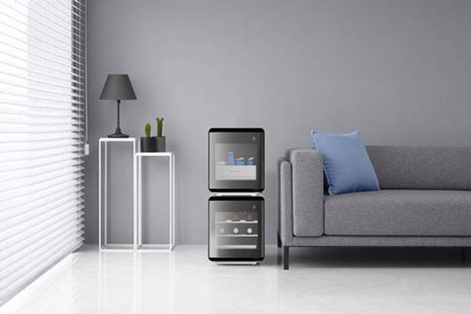 Tủ lạnh khối vuông Samsung Cube - Ảnh 1.
