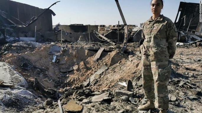 Mục sở thị tổn thất ở căn cứ Mỹ tại Iraq sau đòn trả đũa của Iran - Ảnh 3.