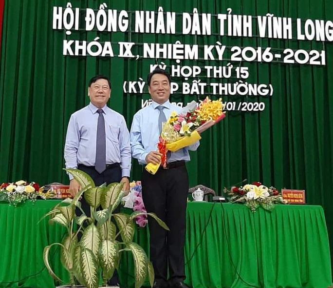 Vĩnh Long có tân Chủ tịch UBND tỉnh sau kỳ họp bất thường - Ảnh 1.