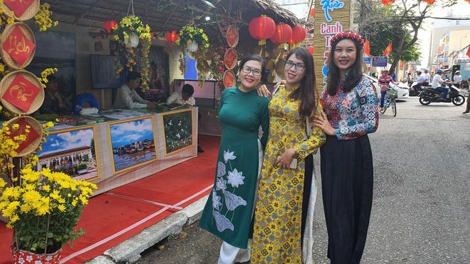 Ngắm những cô gái Tây Đô tại Sắc Xuân miệt vườn Cần Thơ - Ảnh 4.