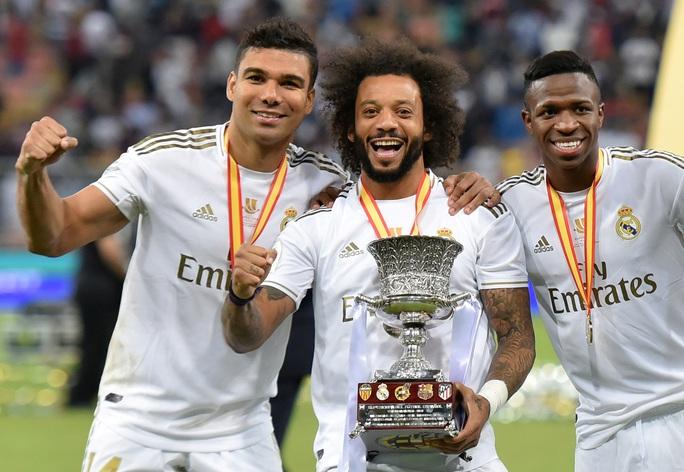 Thắng luân lưu nghẹt thở, Real Madrid đoạt Siêu cúp Tây Ban Nha - Ảnh 10.