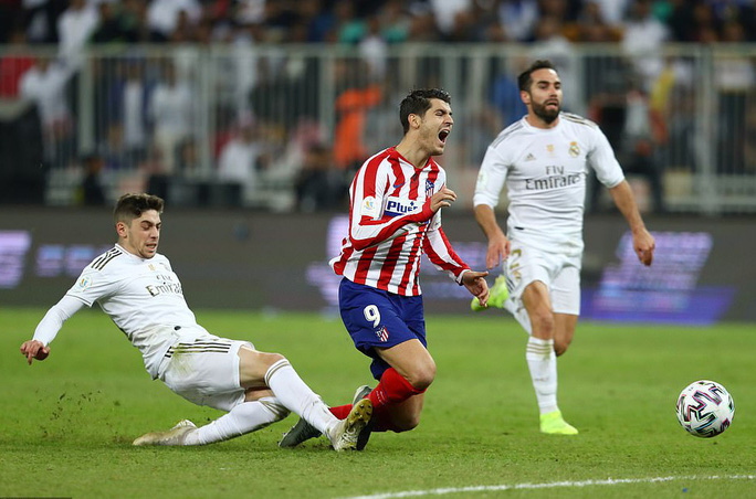 Thắng luân lưu nghẹt thở, Real Madrid đoạt Siêu cúp Tây Ban Nha - Ảnh 5.