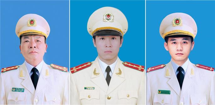 3 cong an hy sinh