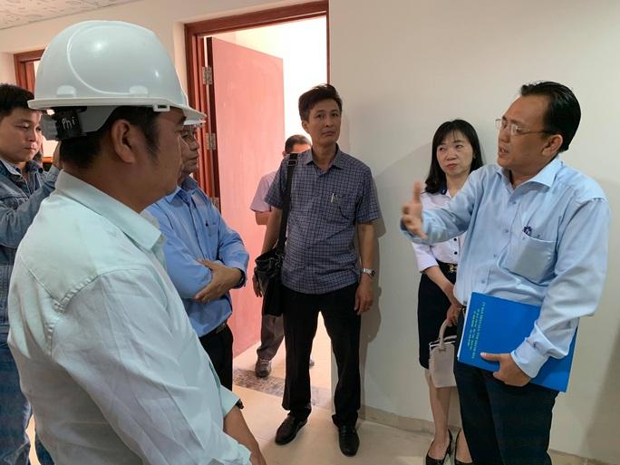 Phó Chủ tịch Khánh Hòa giám sát chặt dự án nhà xã hội Hoàng Quân Nha Trang - Ảnh 1.