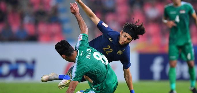 Thái Lan vỡ òa sung sướng vượt qua vòng bảng, vào tứ kết U23 châu Á 2020 - Ảnh 3.