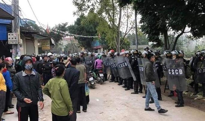 Toàn cảnh vụ chống người thi hành công vụ ở Đồng Tâm - Ảnh 1.