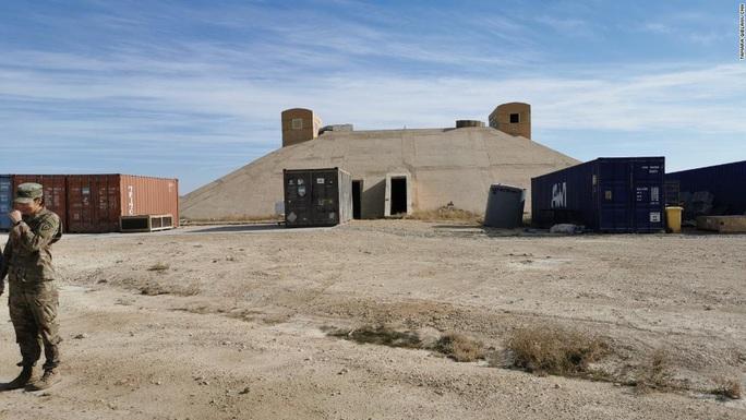 Bí mật về hầm trú ẩn giúp binh sĩ Mỹ thoát chết trước tên lửa Iran - Ảnh 2.