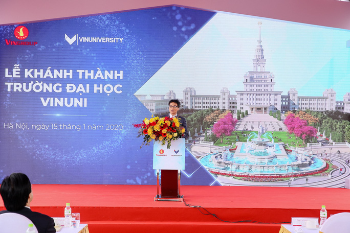 Khánh thành trường đại học ngàn tỉ có tham vọng trở thành trường hàng đầu thế giới - Ảnh 1.