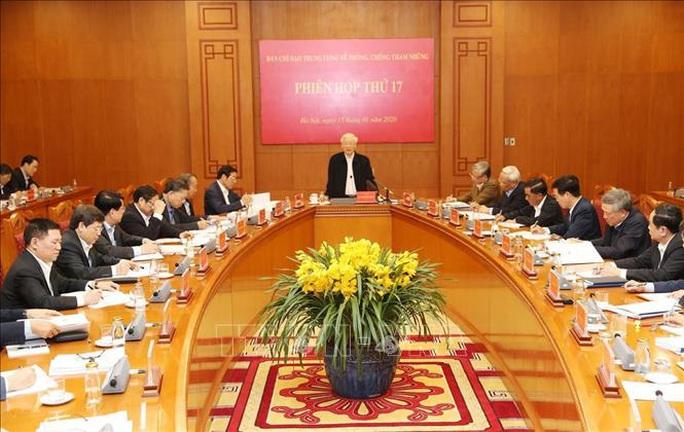 Tổng Bí thư, Chủ tịch nước: Không vì Đại hội XIII mà chống tham nhũng chùng lại - Ảnh 2.