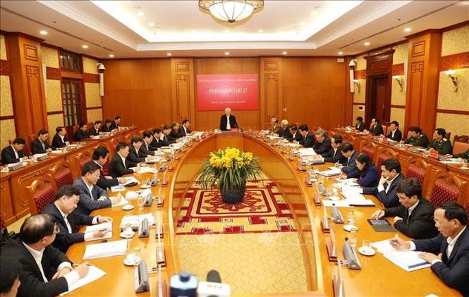 Tổng Bí thư, Chủ tịch nước: Không vì Đại hội XIII mà chống tham nhũng chùng lại - Ảnh 4.