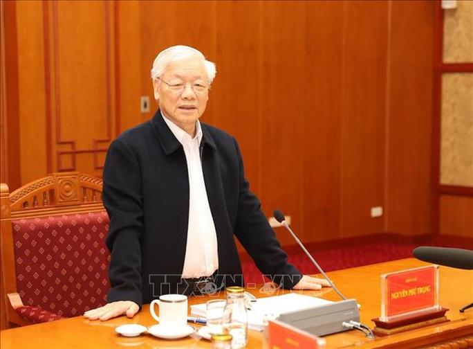 Tổng Bí thư, Chủ tịch nước: Không vì Đại hội XIII mà chống tham nhũng chùng lại - Ảnh 5.
