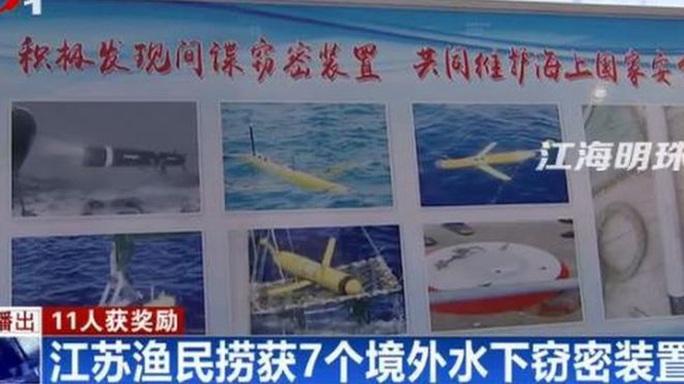 """Thiết bị gián điệp, nguồn thu nhập """"khủng"""" của ngư dân Trung Quốc - Ảnh 1."""