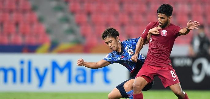 Hòa Nhật Bản, chủ nhà World Cup 2022 bị loại khỏi Giải U23 châu Á - Ảnh 1.