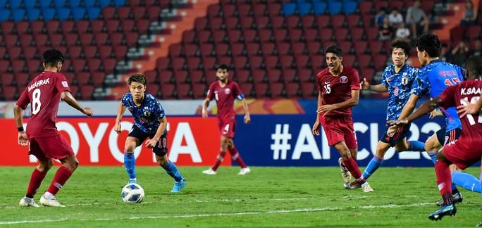Hòa Nhật Bản, chủ nhà World Cup 2022 bị loại khỏi Giải U23 châu Á - Ảnh 3.