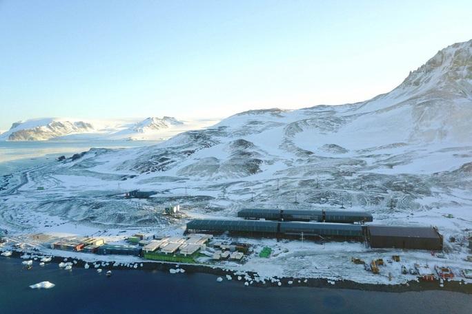 Công ty Trung Quốc xây căn cứ trăm triệu USD cho Brazil ở Nam Cực - Ảnh 1.