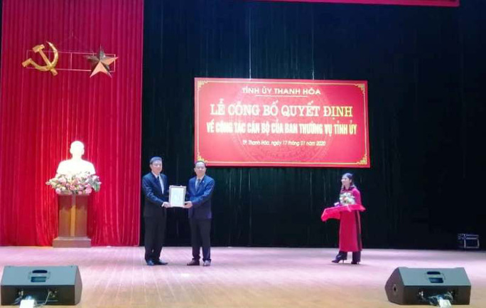 TP Thanh Hóa lần đầu tiên có Bí thư kiêm Chủ tịch UBND - Ảnh 1.