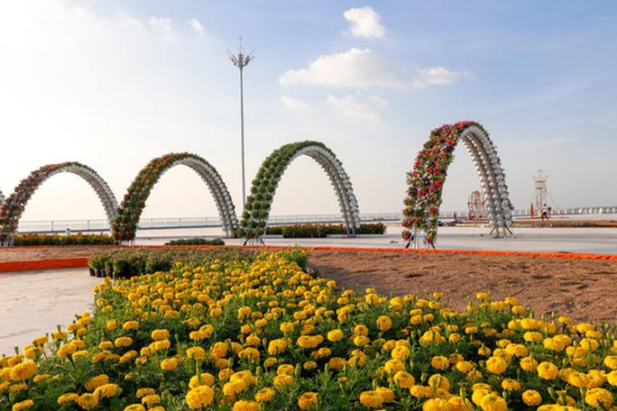 Ngỡ ngàng sắc Xuân tại khu lấn biển lớn nhất miền Tây - Ảnh 7.