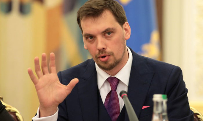 Nói xấu tổng thống bị ghi âm, thủ tướng Ukraine từ chức - Ảnh 1.