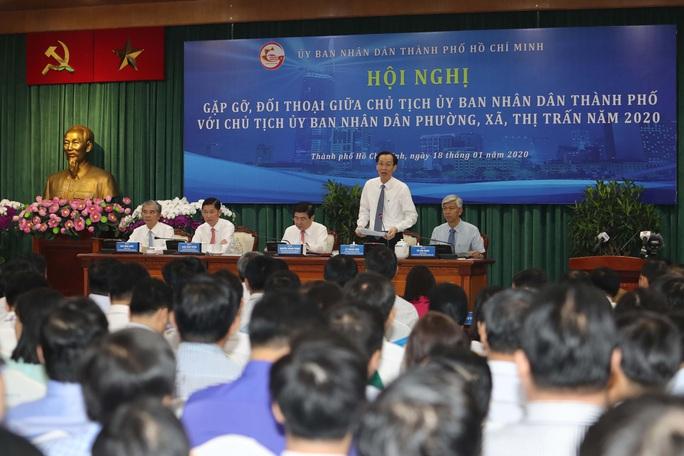 Gặp lãnh đạo chính quyền TP HCM, chủ tịch phường nêu chuyện quản lý chung cư - Ảnh 1.