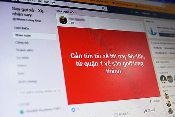 Dân nhậu lập nhóm đưa nhau về trên mạng xã hội - Ảnh 1.