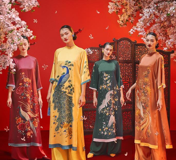 Thướt tha, duyên dáng áo dài du xuân của sao Việt - Ảnh 6.