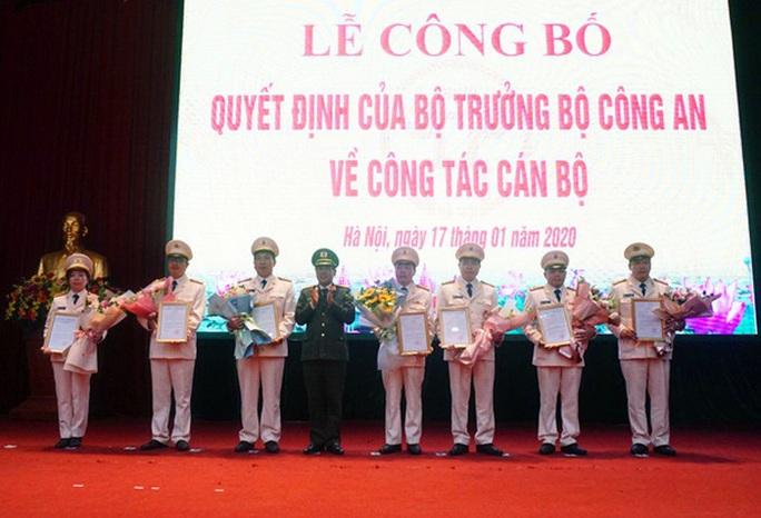 Bộ Công an điều động, bổ nhiệm 7 cán bộ lãnh đạo Công an Hà Nội - Ảnh 1.