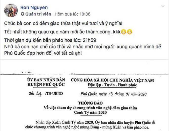 """Người dân Phú Quốc """"nhắc khéo"""" không xả rác khi xem bắn pháo hoa - Ảnh 2."""