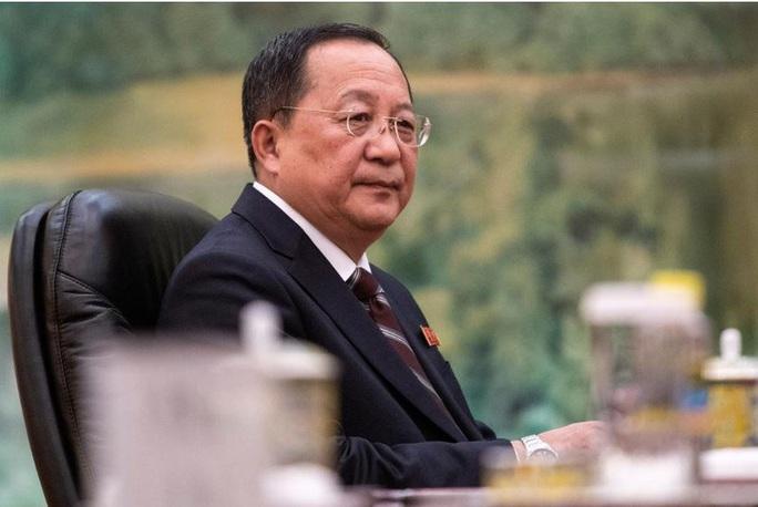 Bộ trưởng Ngoại giao Triều Tiên bị thay thế đã được báo trước? - Ảnh 1.