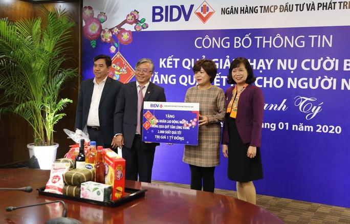 Công đoàn BIDV phát động phong trào quyên góp quà Tết tặng đồng bào nghèo - Ảnh 2.