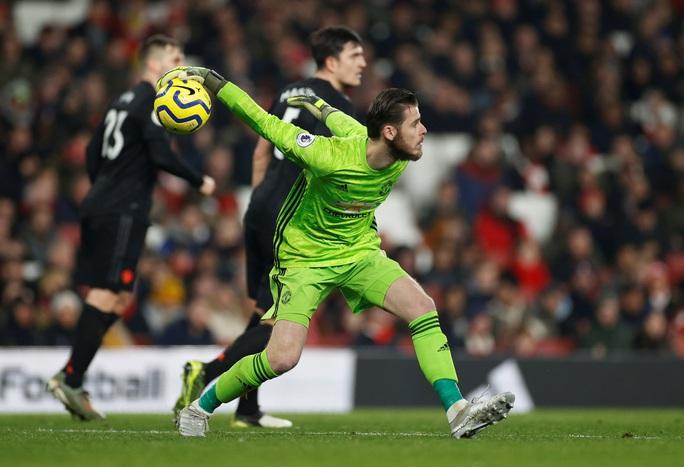 Vùi dập Man United, Arsenal thắng tưng bừng đại chiến - Ảnh 4.