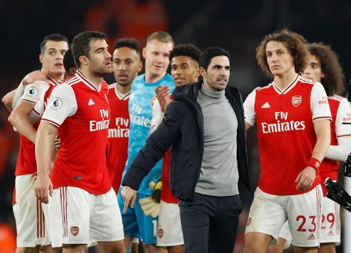 Vùi dập Man United, Arsenal thắng tưng bừng đại chiến - Ảnh 7.