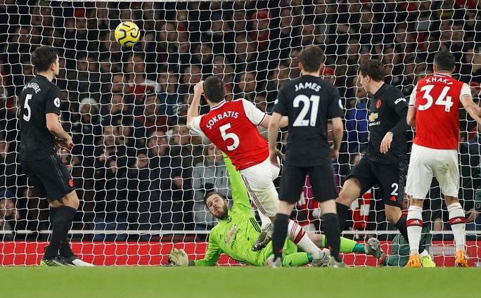 Vùi dập Man United, Arsenal thắng tưng bừng đại chiến - Ảnh 5.