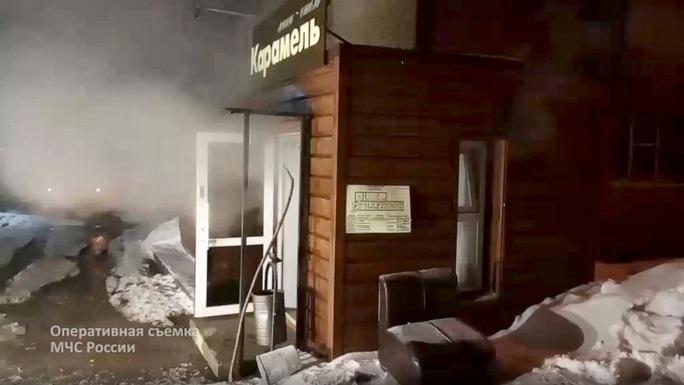 Năm người bị nước sôi giết chết trong khách sạn ở Nga - Ảnh 1.