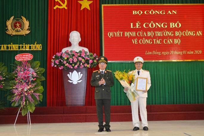Điều động phó giám đốc Công an Đắk Nông làm giám đốc Công an Lâm Đồng - Ảnh 2.