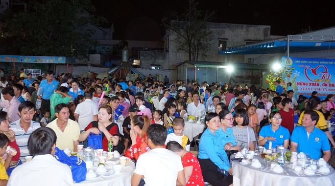 TP HCM: Gần 400 gia đình công nhân đón Tết sum vầy  - Ảnh 3.
