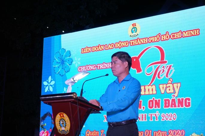 TP HCM: Gần 400 gia đình công nhân đón Tết sum vầy  - Ảnh 2.