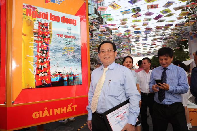 Báo Người Lao Động đoạt giải nhất bìa báo xuân đẹp và ấn tượng năm 2020 - Ảnh 3.
