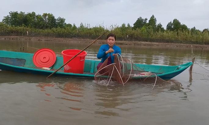 CLIP: Về Cà Mau xem nông dân bắt cá kèo ăn Tết  - Ảnh 4.