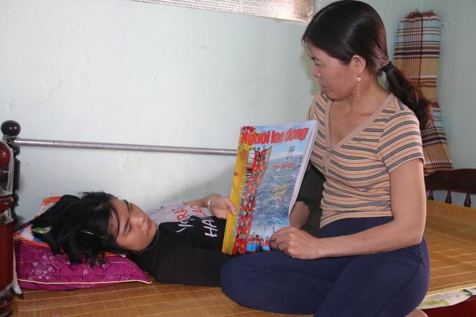 Tết ấm cúng của cô gái từng bị bệnh viện trả về chờ chết - Ảnh 4.
