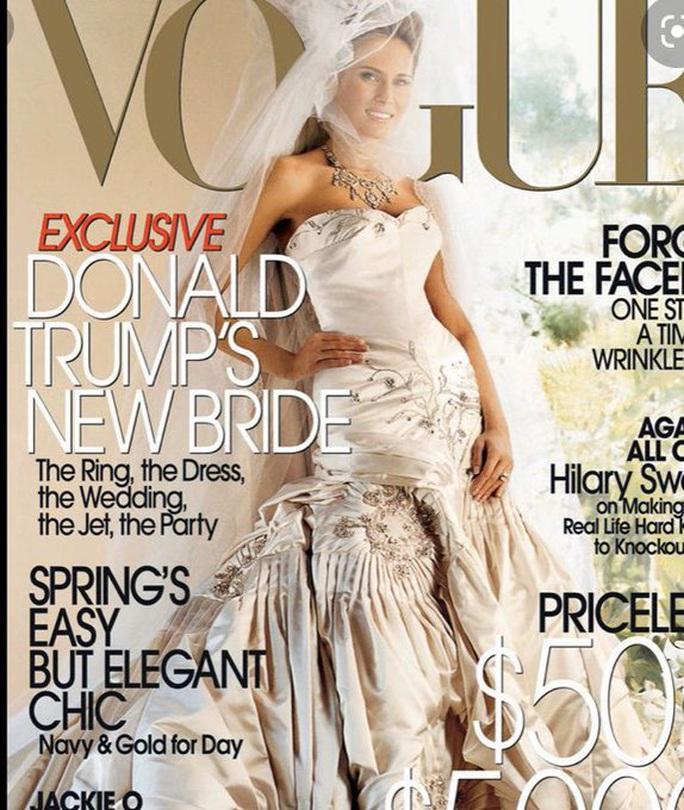 Kỷ niệm 15 năm ngày cưới Tổng thống Donald Trump và đệ nhất phu nhân Melania - Ảnh 2.