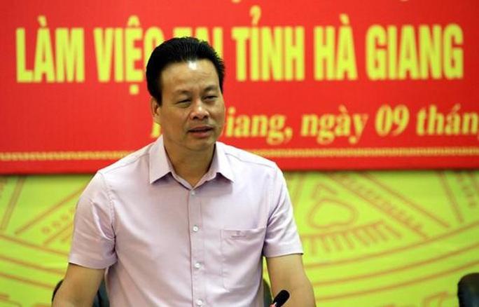 Chủ tịch tỉnh Hà Giang và 2 nguyên Phó chủ nhiệm Văn phòng Chính phủ bị kỷ luật - Ảnh 1.