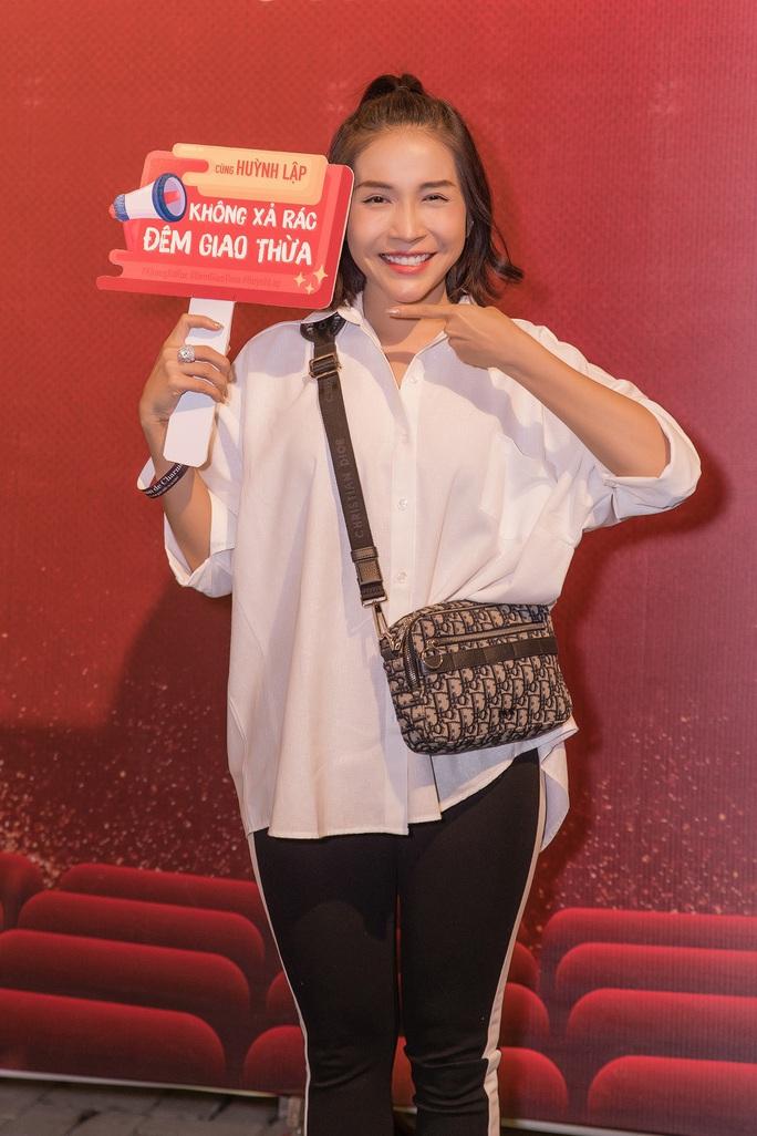 """Nghệ sĩ ủng hộ chiến dịch """"Không xả rác đêm giao thừa"""" của Huỳnh Lập - Ảnh 11."""