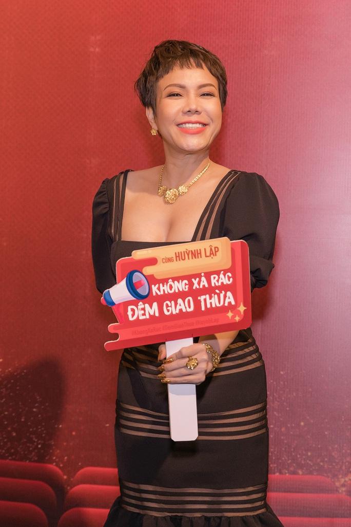 """Nghệ sĩ ủng hộ chiến dịch """"Không xả rác đêm giao thừa"""" của Huỳnh Lập - Ảnh 7."""